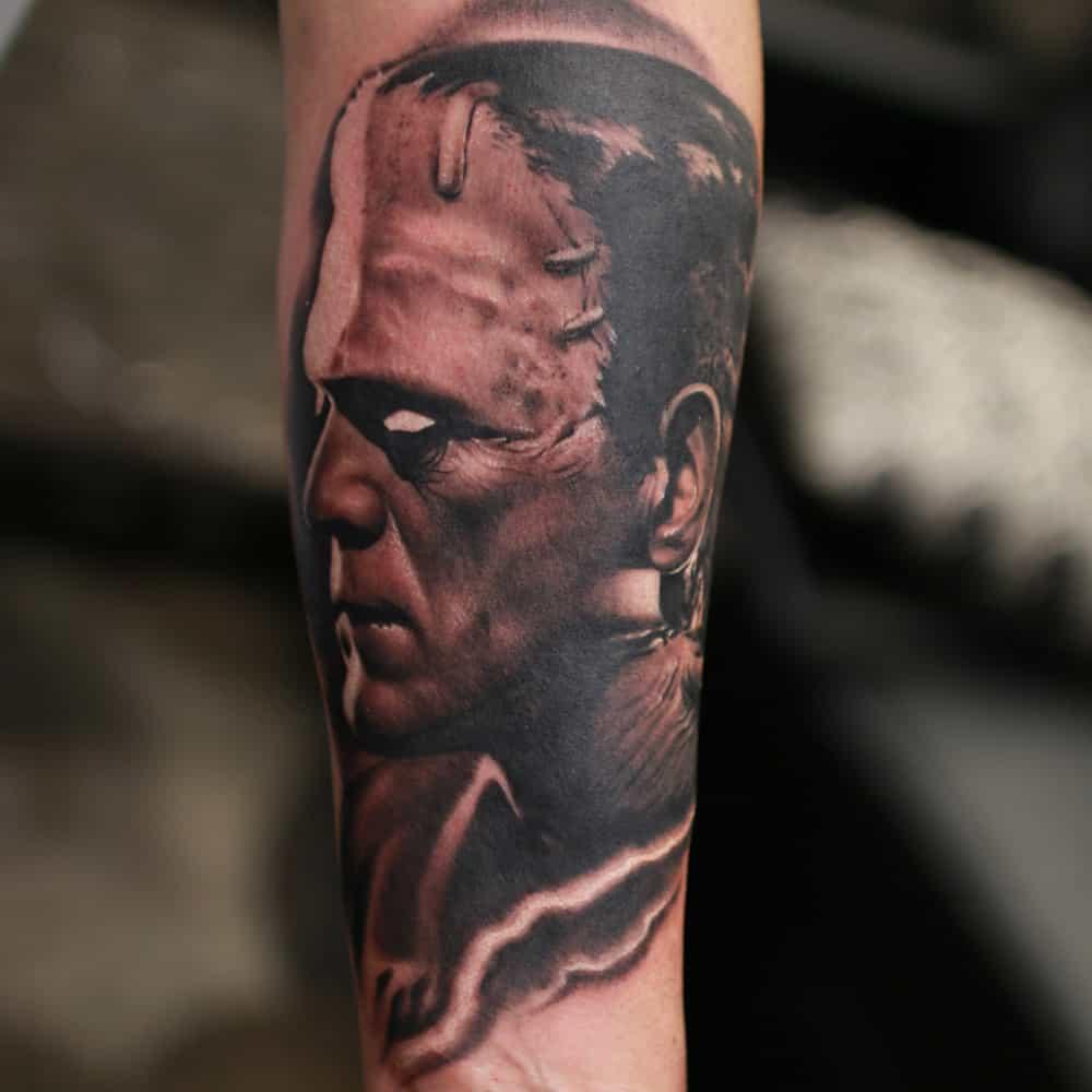 frankenstien-tattoo